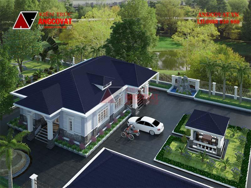 Tính toán chi phí xây dựng nhà cấp 4 mái thái 3 phòng ngủ của ông Tuấn